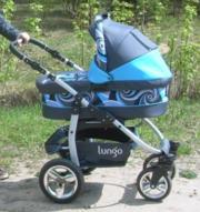 Продам детскую коляску 2в 1 для мальчика