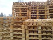 Продам поддоны деревянные бу (Солигорск)