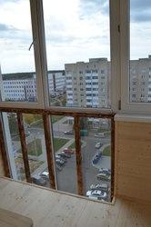 Обшивка балконов в Солигорске