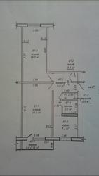 Продам 2-х комнатную квартиру в центре солигорск