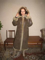 Продаю дубленку женскую,  размер 44(на толстую кофту)-46-48