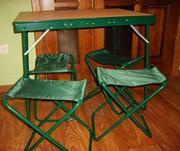 Стол  кемпинговый складной  для отдыха 4 стула
